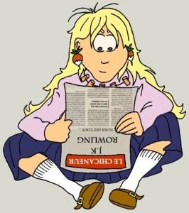 Luna - le Repaire de Rowling : les interviews de J.K. Rowling en fran�ais !